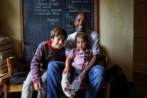 Ibrahim (Somalia) ospite della famiglia Coccoi. Parma