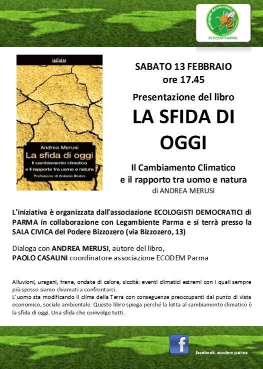 13 febbraio - La Sfida di Oggi a Parma