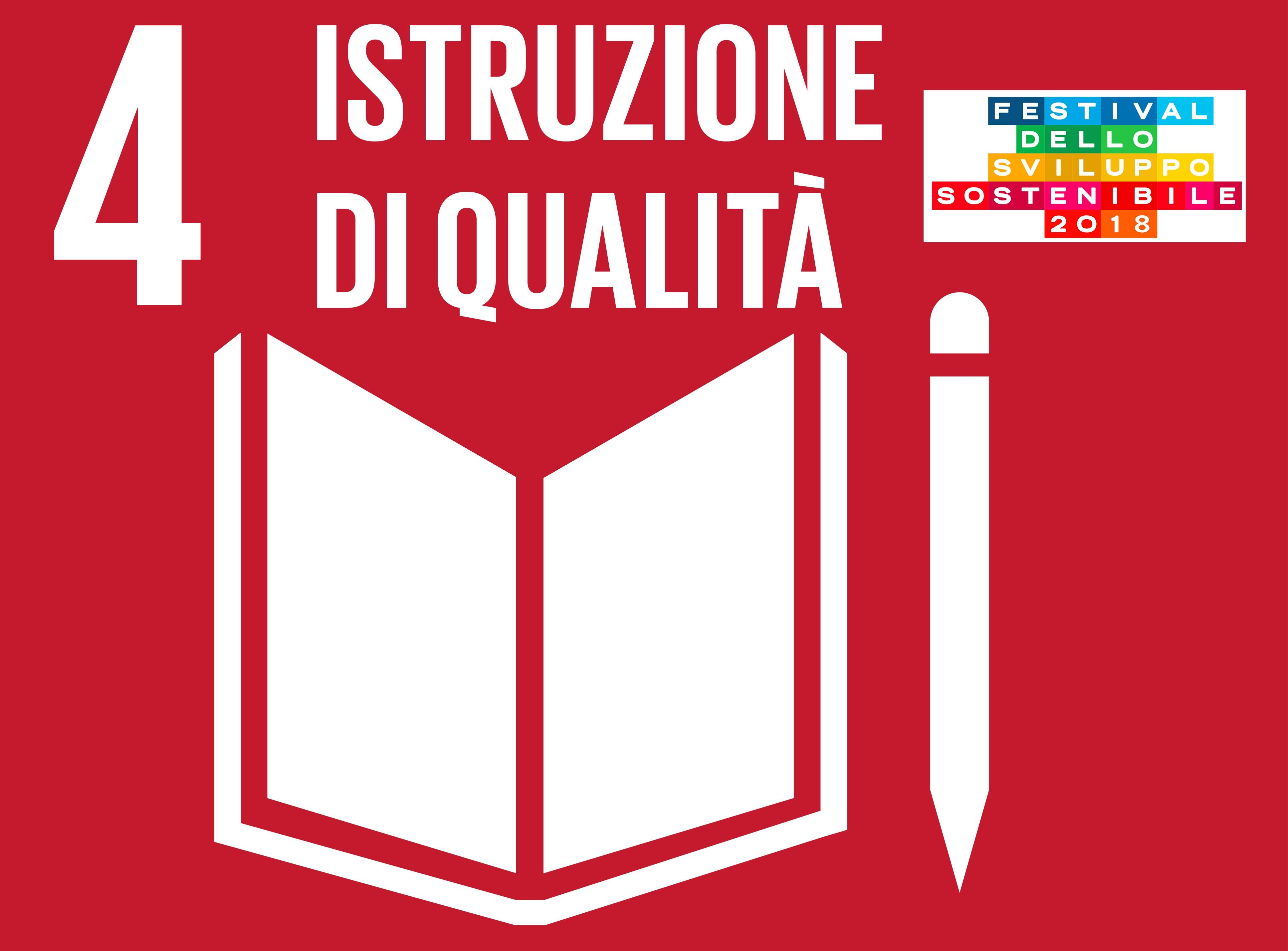 Festival dello Sviluppo Sostenibile Parma. SDG 4: Istruzione di Qualità
