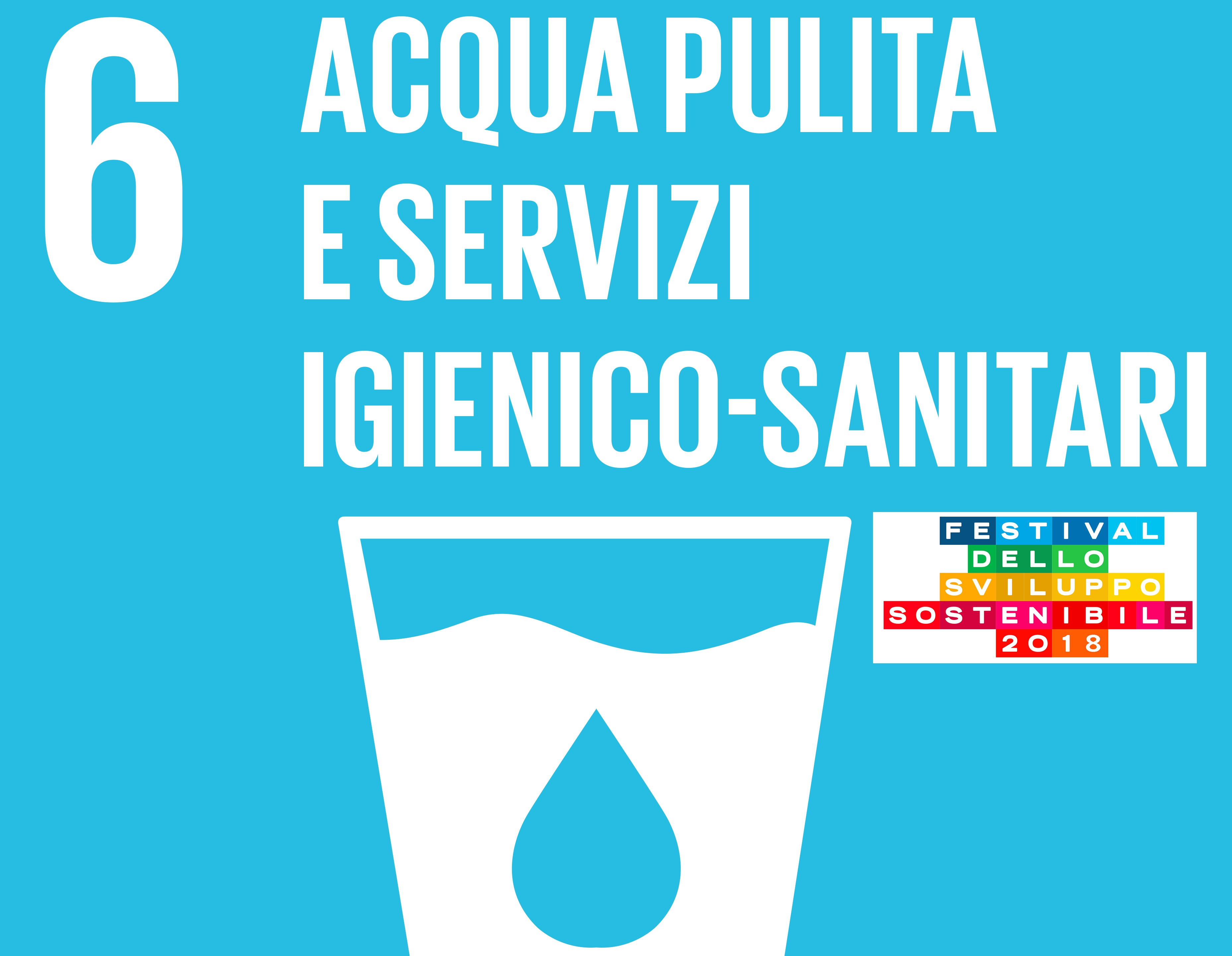 Festival dello Sviluppo Sostenibile Parma. SDG 6: Acqua pulita e servizi igienico-sanitari