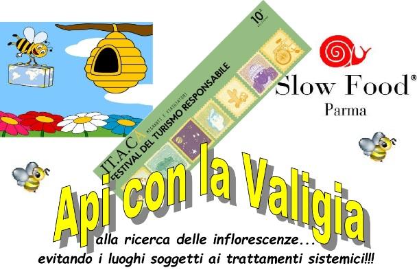 """Festival IT.A.CA' Parma: sabato 6 ottobre """"Api con la valigia. Alla ricerca delle inflorescenze, evitando i luoghi soggetti ai trattamenti sistemici"""""""