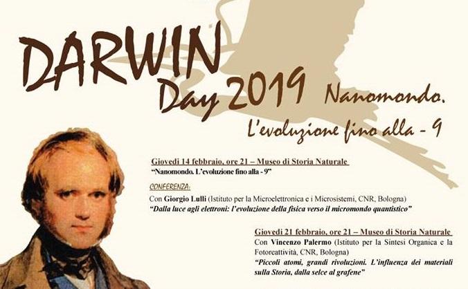 Darwin Day Ferrara 2019: Nanomondo. L'evoluzione fino alla – 9
