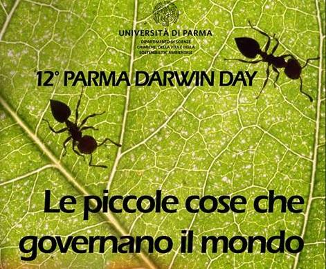 Le piccole cose che governano il mondo. Darwin Day Parma 2019