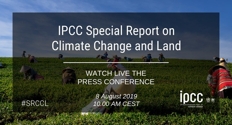 Climate Change and Land. 50a Sessione IPCC a Ginevra