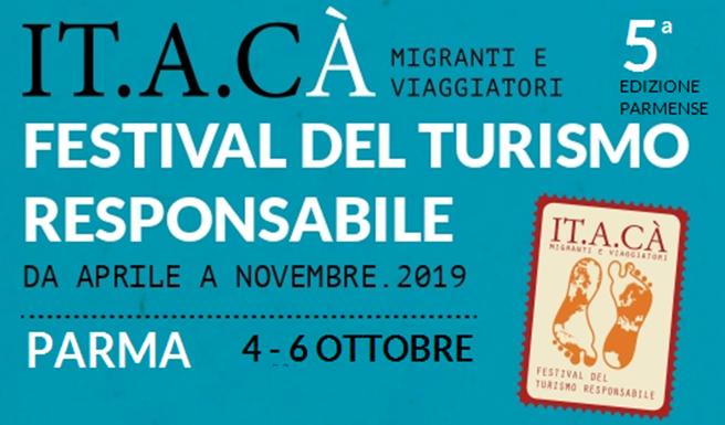 IT.A.CÀ, Il Festival del Turismo Responsabile, fara' tappa a Parma da Venerdi 4 a Domenica 6 ottobre