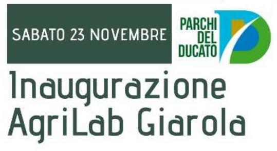 """Nasce """"AgriLab Giarola"""", nuovo laboratorio di educazione agroalimentare"""