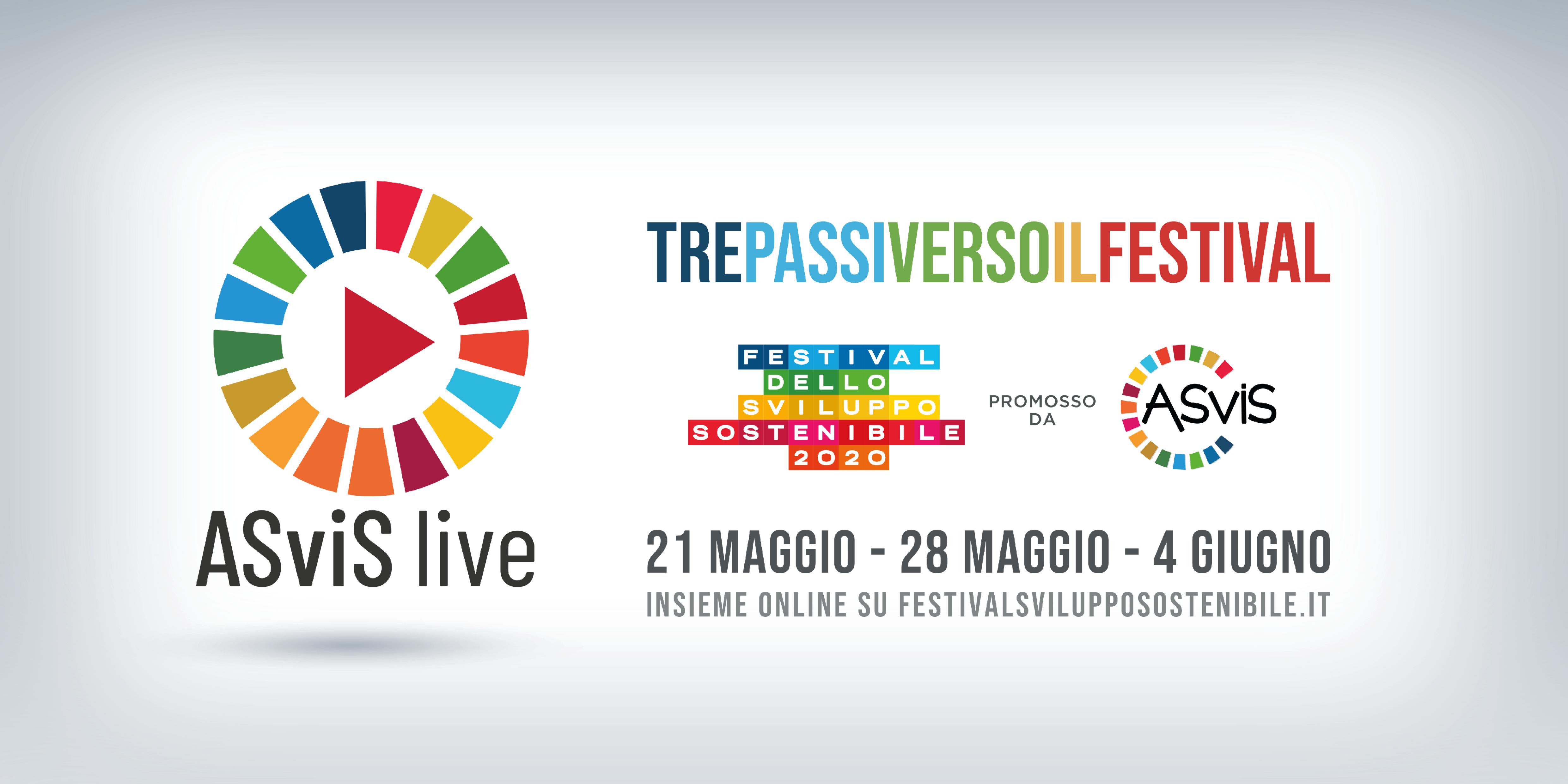 ASViS Live: tre passi verso il Festival dello Sviluppo Sostenibile
