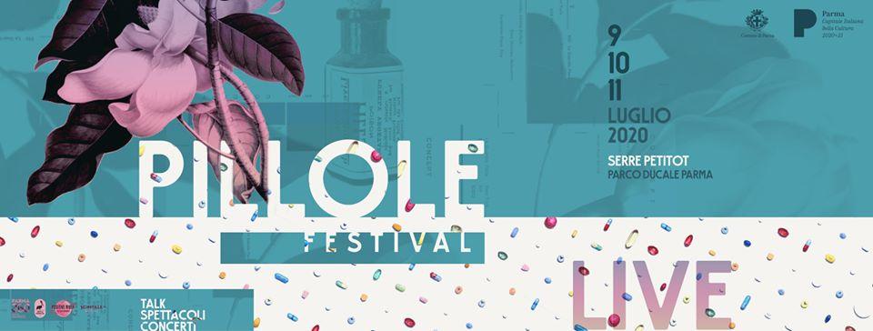 Pillole Festival: letteratura, arte, musica e favole a Parma dal 9 all'11 luglio