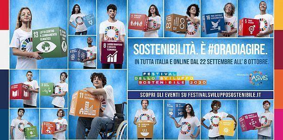 22 settembre: Festival dello Sviluppo Sostenibile. In diretta l'evento di apertura