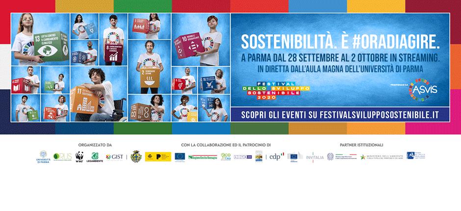 28 settembre: al via il Festival dello Sviluppo Sostenibile Parma 2020