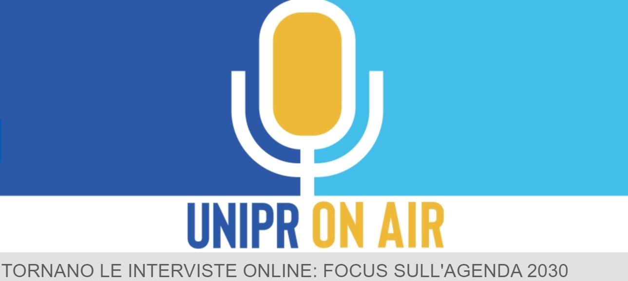"""18 febbraio: riparte """"UNIPR On Air"""", focus sull'Agenda 2030 ONU"""