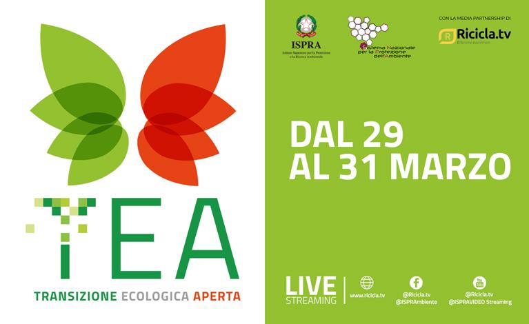 Transizione Ecologica Aperta (TEA), al via gli incontri